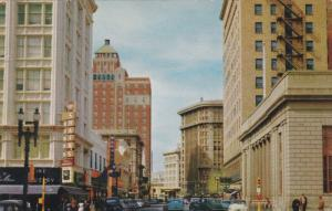 Mill Street, Shains Jewelery, Hilton Hotel, Classic Cars, EL PASO, Texas, 40-...