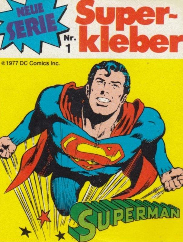 Label ; Superman , 50-60s