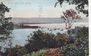 Peoria, Upper Free Bridge, Illinois, PU-1911
