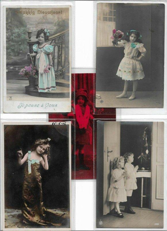 Jugendstil Pretty Woman RPPC Postcard Lot of 10 01.10