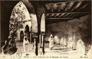CPA AK Oran Cour interieure de la Mosquée du Pacha ALGERIE (748879)