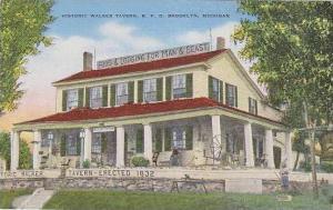 Michigan R F D Brooklyn Historic Walker Tavern