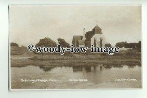 cu1876 - St. Mary's Parish Church, Holiday Fellowship, Freston, Sussex- Postcard