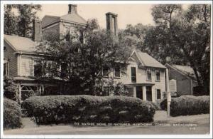 Wayside, Home of Nathaniel Hawthorne, Concord Mass