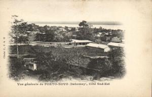 CPA Dahomey Afrique - Vue generale Porto-Novo (86822)