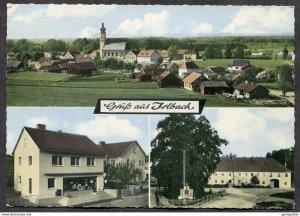 dc500 - Gruss aus IRLBACH b. Straubing 1973 Postcard to Canada
