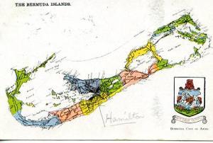 Bermuda - Map of Bermuda Islands