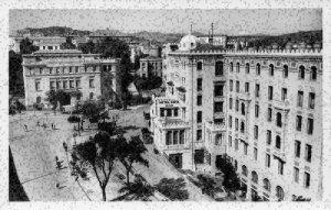 Algeria Constantine Hotel Cirta et Maison de L'Agriculture House Postcard