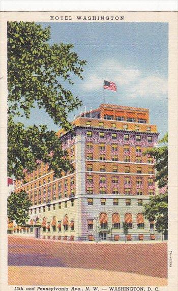 Washington DC Hotel Washington Curteich