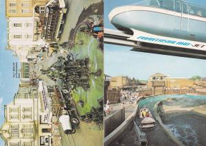 Phantasialand Bruhl Germany Water Chute Theme Park 2x Postcard