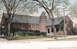 MALDEN, Massachusetts; Memorial Library, 00-10s