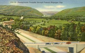 PA - Pennsylvania Turnpike. Aliquippa Gap