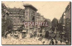 Paris Old Postcard Boulevard St Denis