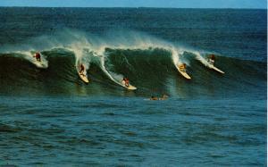 HI - Waikiki. Surfing