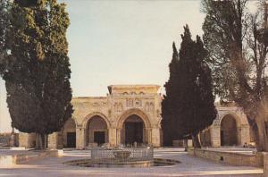 Israel Jerusalem Old City Mosqe Of El Aksa