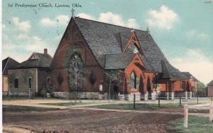 LAWTON , Oklahoma, 1900-10s; 1st Presbyterian Church
