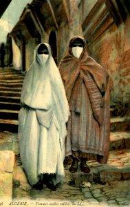 Algeria - Arab Women With Veils