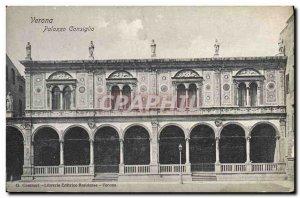 Postcard Old Verona Palazzo Consiglio