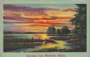 Oklahoma Greetings From Prague 1958