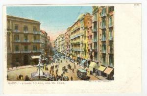 Busy Toledo Ave.,Naples / Napoli,Italy Pre 1908