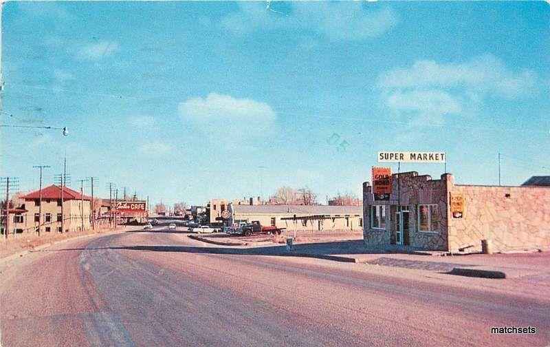 f j schaaf main street vaughn new mexico 2235 postcard hippostcard