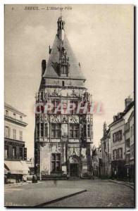 Dreux - Hotel de Ville - Old Postcard