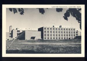 Lakeville, MA/Massachusetts/Mass Postcard, Lakeville Sanatorium