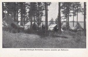 Jauneklu Kristigas Savienibas vasras nometne pie Baltezera , Latvia , 00-10s