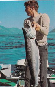 BIG BAY MARINA , B.C. , Canada , 50-60s Guide displays Customer's catch