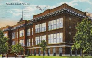 Indiana Peru High School 1944 Curteich