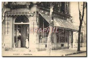 Postcard Old Cures Vichy Pastillerie