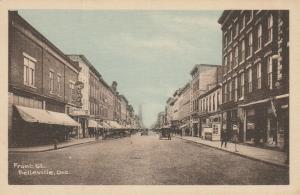 BELLEVILLE , Ontario, Canada, 1910s ; Front Street