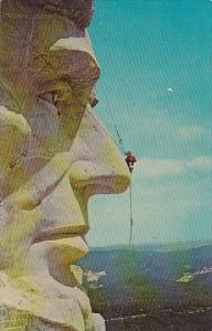 South Dakota Mount Rushmore Head Of Lincoln