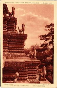 CPA CAMBODIA Temple d'Angkor Vat - Escalier Lateral. (550269)