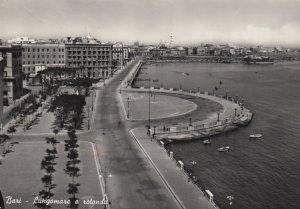 RP; BARI, Puglia, Italy, 1930-1940's; Lungomare e rotonda