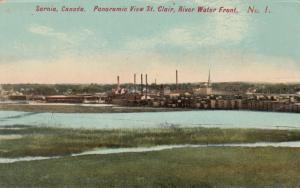 SARNIA , Ontario , 1900-10s ; River Water Front