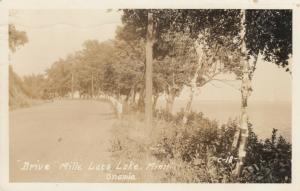 RP: ONAMIA , Minnesota , 1942 ; Drive , Mille Lacs Lake