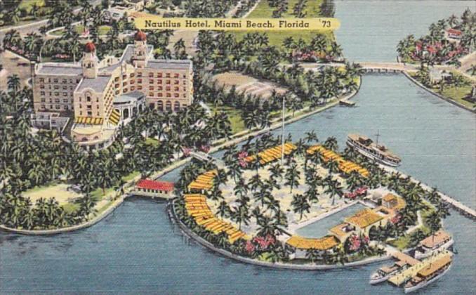 Florida Miami Beach The Nautilus Hotel