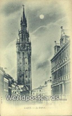 Le Beffroi Gand, Belgium Unused