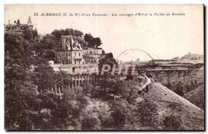 Old Postcard St Bricuc and Surroundings The Art of Literature and the valley ...