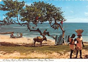 Montego Bay, Jamaica - Fishing Beach, Rose Hall Plantation
