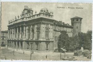 Italy, Torino, Palazzo Madama, early 1900s unused Postcard