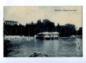 191368 CROATIA ABBAZIA Bagno Tomasevac Vintage postcard