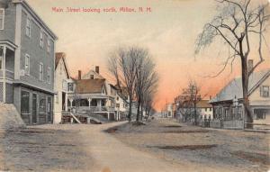 Milton New Hampshire Main Street Scene Historic Bldgs Antique Postcard K88762