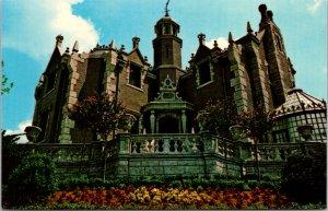Walt Disney World FL vtg postcard The Haunted Mansion