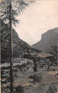 Jungfrau Swiss Alps Switzerland 1910
