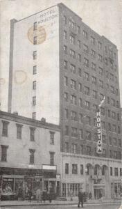 Washington DC Hotel Houston Street View Antique Postcard K86930