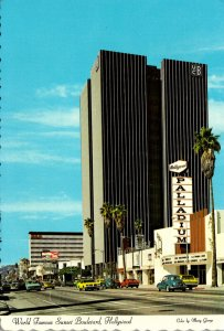 California Hollywood World Famous Sunset Boulevard