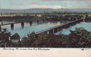Harrisburg Pennsylvania As Seen From Fort Washington Harrisburg Pennsylvania ...