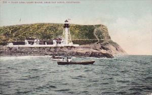 Point Loma Lighthouse Near San Diego California
